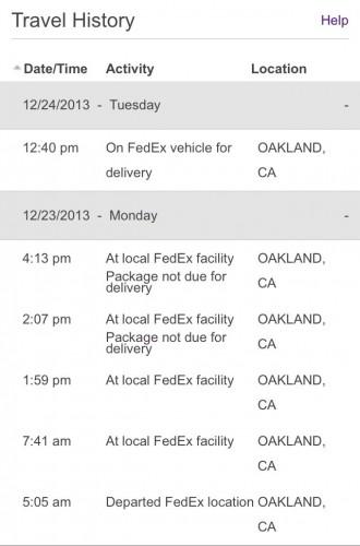 FedEx failure