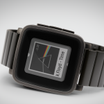 Black Pebble Time Steel