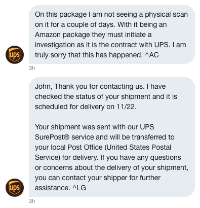 Ups More Excuses Less Deliveries Bluedonkey Org